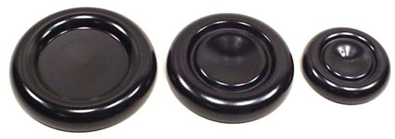 Ebony Caster Cups