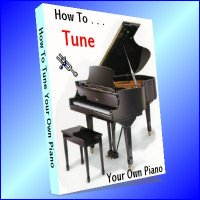 How To Tune Your Own Piano (printed copy)