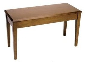 Wood Top Upright Bench - Jansen