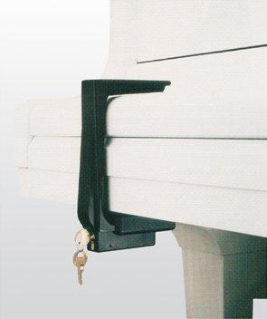 Lucite Fallboard Lock
