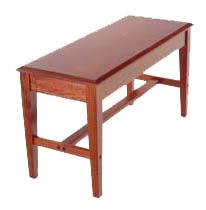 School Bench - Wood Top - GRK