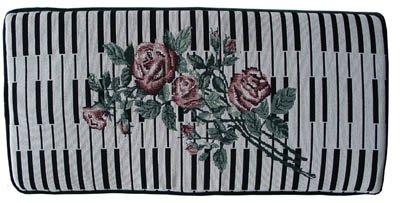 Bench Cushion - Keyboard & Rose - GRK