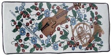 Bench Cushion - Violin & Horn - GRK