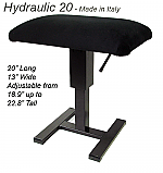 Single Hydraulic Artist Bench-20""