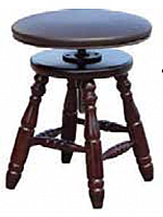 Adjustable Harp Stool - Padded Top